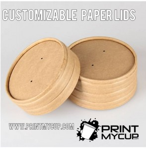 paper lids custom print, whoelsale food packaging, soup containers