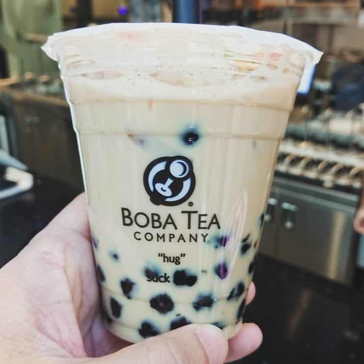 BoBa Tea Company Branded Food Packaging