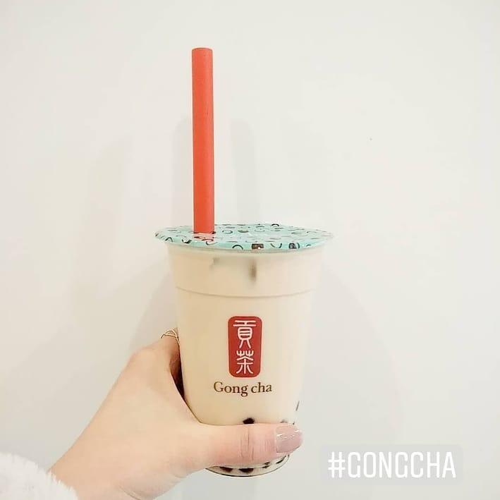 Gong Cha Custom Printed Clear Cup