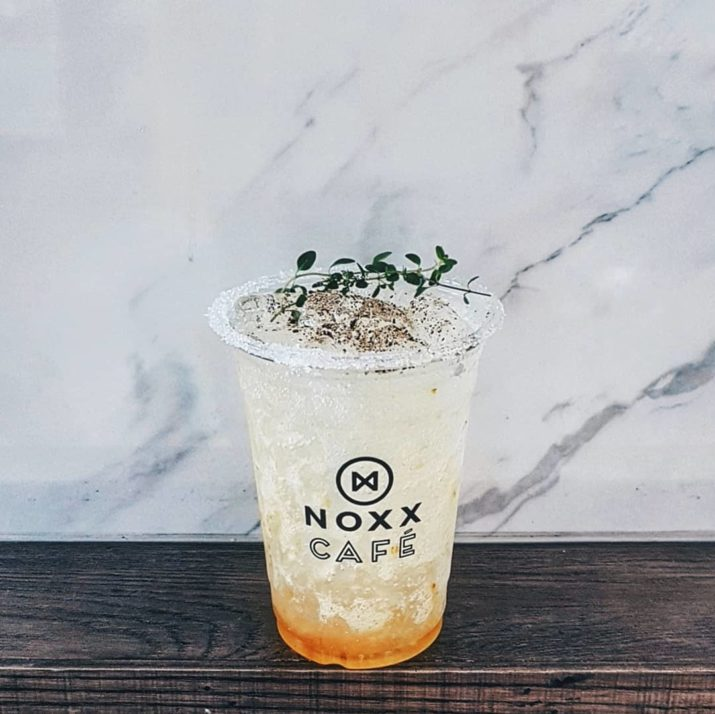 Noxx Cafe Custom printed Plastic Drink Cups
